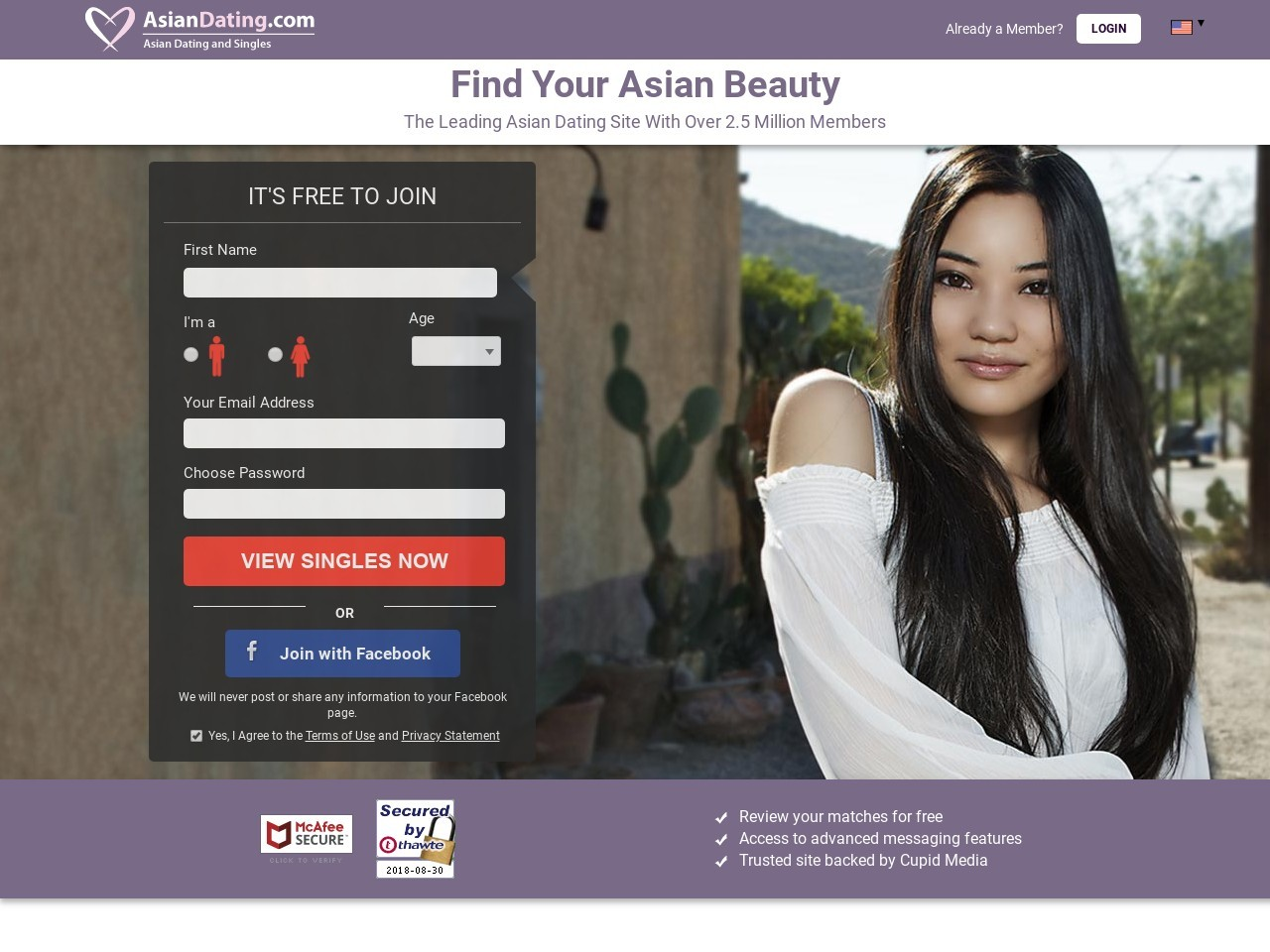 Asian dating free in site